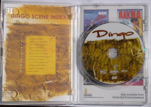 Dingo inside cover