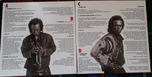 Rubberband vinyl inside credits