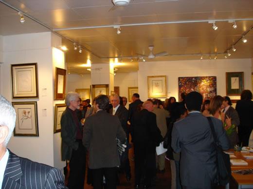Miles art exhibition