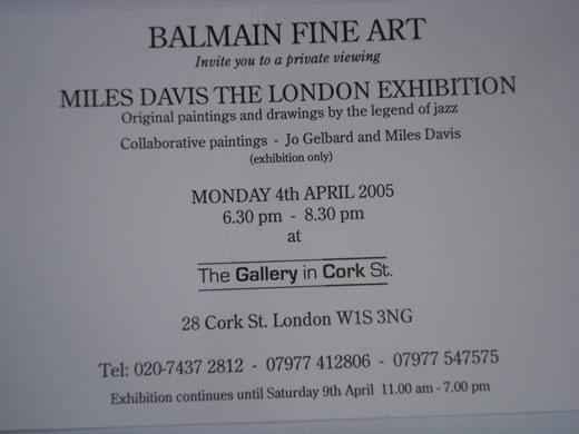 Gallery invitation