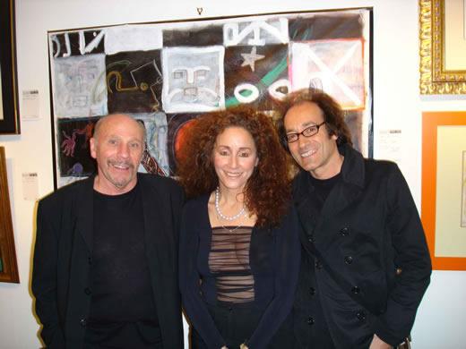 Keith, Jo and John