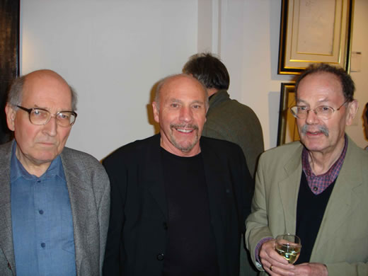Peter Symes, Keith Denney and Ian Carr