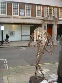 Miles sculpture