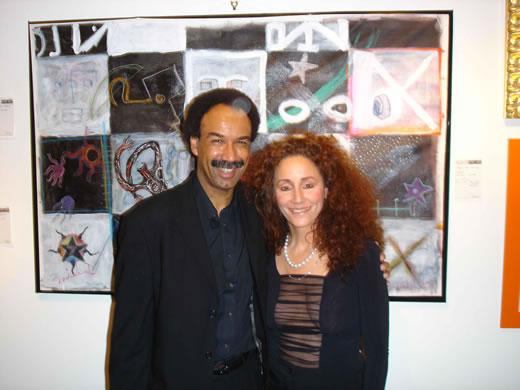 George Cole and Jo Gelbard
