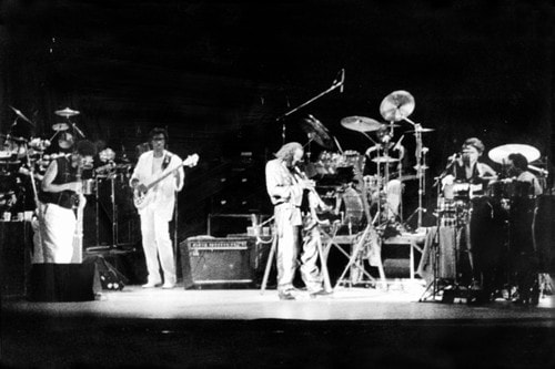Miles' Band from March 1986, kindly supplied by Vince Wilburn Jr