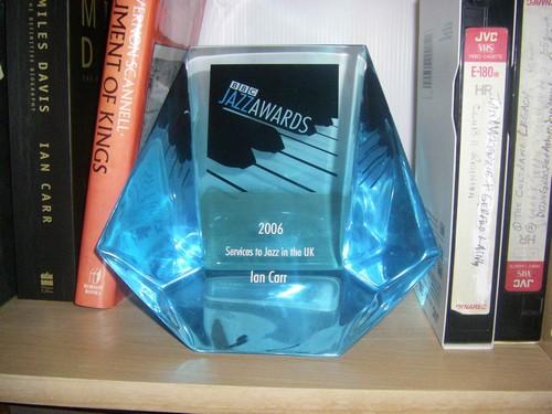 Ian Carr BBC Jazz Award