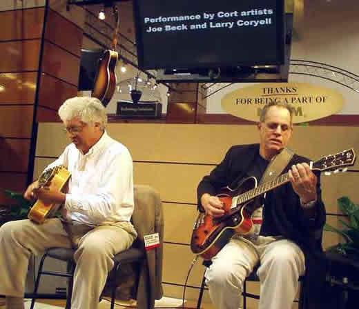 Larry Coryell and Joe Beck