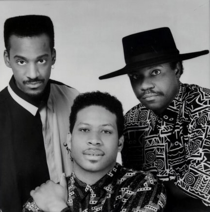 Marcus Miller, Dinky Bingham and Lenny White of The Jamaica Boys