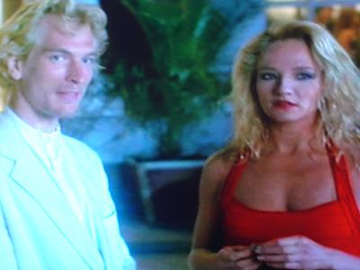 Julian Sands and Ellen Barkin