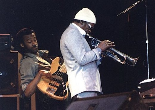 Marcus Miller and Miles