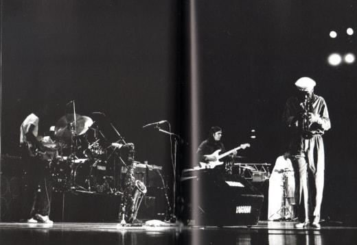 photo of Miles 1981 tour © Shigeru Uchiyama