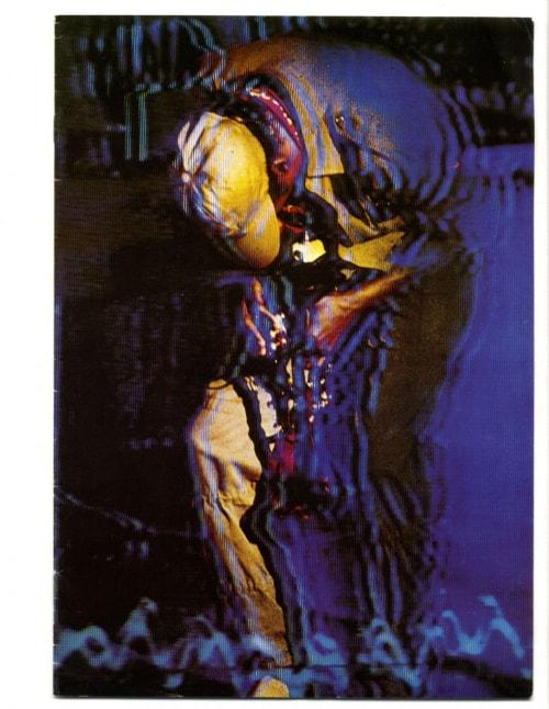 Miles Davis 16-page colour 1982 concert programme cover