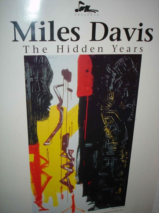 Miles Art Poster