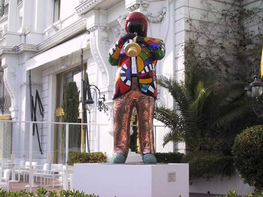 Miles Statue