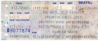 Miles gig ticket