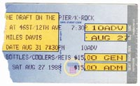 Miles gig ticket