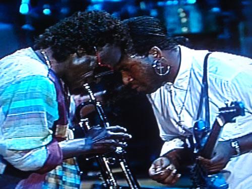 Miles Davis and Foley
