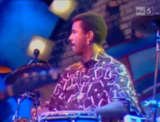 Munyungo Jackson in Rome, April 1989