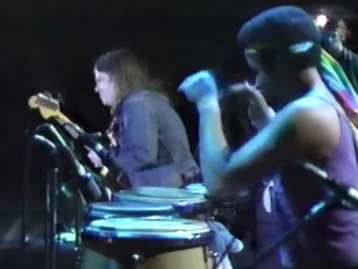 Mike Stern, Mino Cinelu, Bill Evans in Tokyo, October 1981
