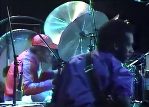 Al Foster and Marcus Miller in Tokyo, October 1981