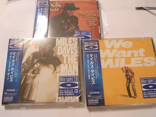 Miles Davis Blu-Spec CDs