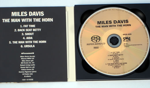 The Man With The Horn SACD