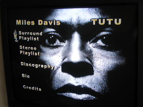 Tutu DVD-Audio