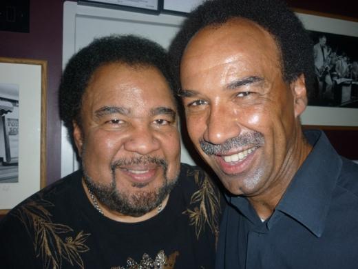 george-duke-and-george-cole-at-ronnie-scotts-jazz-club
